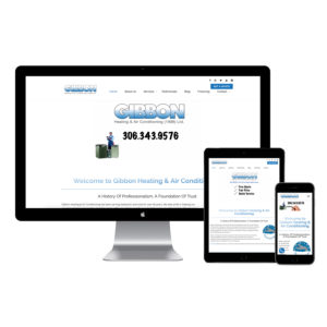 Gibbon Heating & Air Conditioning New Website
