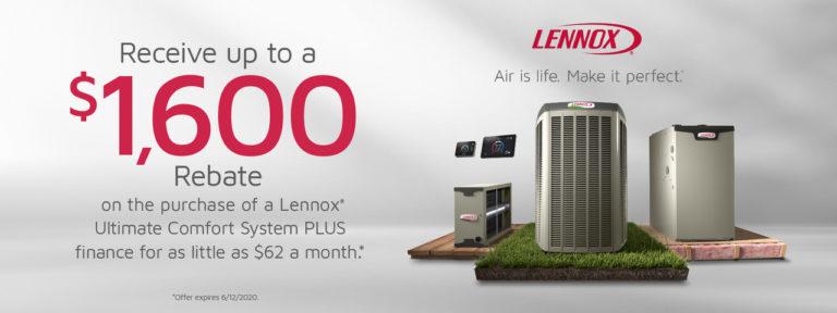 Lennox 2020 Spring Rebate
