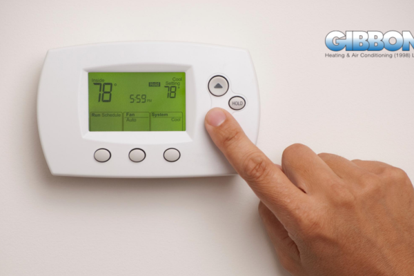 Programmable and Smart Thermostat Gibbon Heating and Air Conditioning Saskatoon